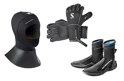 Boots Huvor Handske