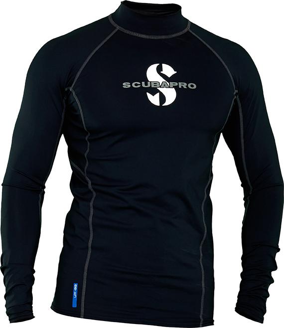 e819ee2e82aa Scubapro SWIM BLACK UV KLÄDER Långärmad Mens UPF 50 - Divers.se