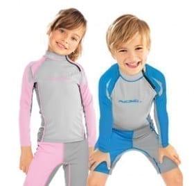 Scubapro Wizard & Harmoney UV Kläder UPF 80 pojkar och flickor Tröja och Byxa