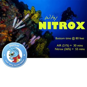 PADI Nitrox Enriched Air Diver 1